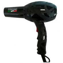 GAMMA PIU 083 L'ITALIANO BLACK 2000W - Профессиональный фен для волос ЧЁРНЫЙ 2000 Вт