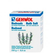 GEHWOL Classic Product Bath Salt - Соль для ванны с розмарином 10пак, 250гр