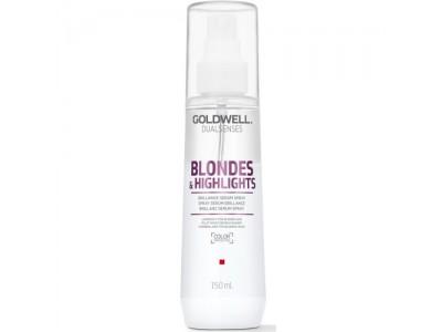 Goldwell Dualsenses Blondes & Highlights Brilliance Serum Spray - Сыворотка-спрей для осветленных волос 150мл