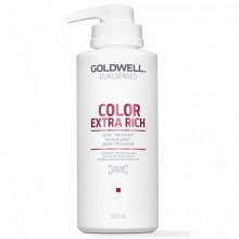Goldwell Dualsenses Color Exrta Rich 60SEC Treatment - Уход за 60 секунд для блеска окрашенных волос 500мл