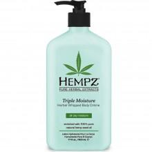 HEMPZ HERBAL Body Moisturizer Triple - Молочко для Тела Тройное Увлажнение 500мл