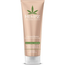 HEMPZ Body Wash Coconut Fusion Energizing Herbal - Гель для Душа Бодрящий Кокос 250мл