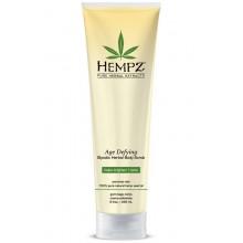 Hempz Age Defying Glycolic Herbal Body Scrub - Cкраб для тела, Антивозрастной, 265 гр