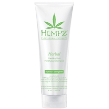 """HEMPZ Herbal Healthy Hair Fortifying Shampoo - Шампунь растительный укрепляющий """"Здоровые волосы"""" 265мл"""