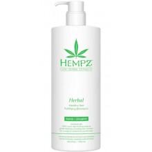 """HEMPZ Herbal Healthy Hair Fortifying Shampoo - Шампунь растительный укрепляющий """"Здоровые волосы"""" 750мл"""
