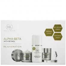 Holy Land Alpha-Beta and Retinol kit - Набор для восстановления текстуры и цвета кожи 125 + 50 + 50мл
