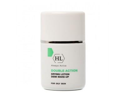 Holy Land Double Action Drying Lotion+Make Up - Подсушивающий лосьон с тоном 30 мл
