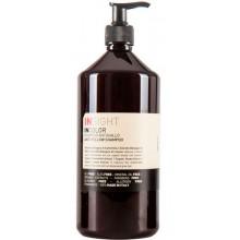 INSIGHT ANTI-YELLOW Shampoo - Шампунь для нейтрализации жёлтого оттенка волос 900мл