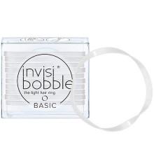 Invisibobble BASIC Crystal Clear - Резинка для волос цвет Прозрачный 10шт