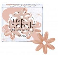 Invisibobble NANO Make-Up Your Mind - Резинка-браслет для волос, цвет Постэльный Розовый 3шт