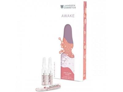 JANSSEN Cosmetics Ampoules Eye Flash Fluid - Увлажняющая и восстанавливающая сыворотка в ампулах для контура глаз 7 х 2мл