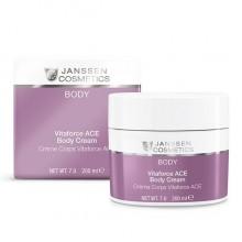 JANSSEN Cosmetics Body Vitaforce ACE Body Cream - Насыщенный крем для тела с витаминами A, C и E 200мл