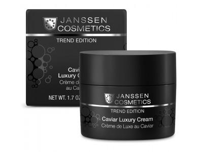 JANSSEN Cosmetics Trend Edition Caviar Luxury Cream - Роскошный обогащенный крем с экстрактом чёрной икры 50мл