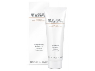 JANSSEN Cosmetics Fair Skin Brightening Exfoliator - Пилинг-крем для выравнивания цвета лица 50 мл