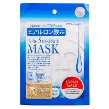 JAPAN GALS Pure 5 Essence MASK - Набор масок с ГИАЛУРОНОВОЙ КИСЛОТОЙ 1шт