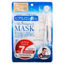 JAPAN GALS Pure 5 Essence MASK - Набор масок с ГИАЛУРОНОВОЙ КИСЛОТОЙ 7шт