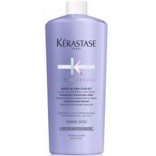 Kerastase BLOND ABSOLU BAIN ULTRA-VIOLET - Шампунь-ванна фиолетовый, нейтрализующий желтые полутона 1000мл