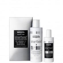 L'Oreal Professionnel Smartbond: Step 1 Active Concentrate + Step 2 Active Cream - Профессиональный комплект: Атактивный концентрат + Активный крем для волос 125 + 250мл