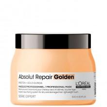 L'Oreal Professionnel Absolut Repair Golden Masque - Маска с золотой текстурой для восстановления волос 500мл
