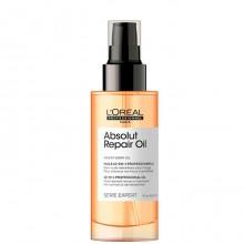 L'Oreal Professionnel Absolut Repair Oil 10-in-1 - Многофункциональный масло-спрей 10-в-1 для восстановления поврежденных волос 90мл