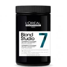L'Oreal Professionnel Blond Studio Lightening Clay Powder 7 - Многофункциональная пудра-глина для интенсивного осветления 500гр