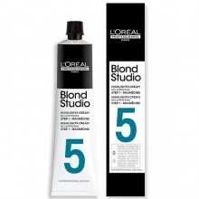L'Oreal Professionnel Blond Studio Cream Step-1 Mejimeches 5 - Крем для мелирования волос без аммиака 50мл