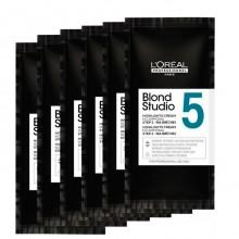 L'Oreal Professionnel Blond Studio Cream Step-2 Mejimeches 5 - Осветляющий крем для волос без аммиака 6 х 25гр