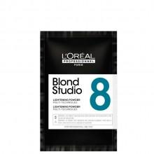 L'Oreal Professionnel Blond Studio Lightening Powder 8 - Осветляющая пудра для мульти техник 50гр