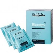 L'Oreal Professionnel Blond Studio Blondys Powder - Порошок-усилитель для полного осветления волос 12 х 17гр
