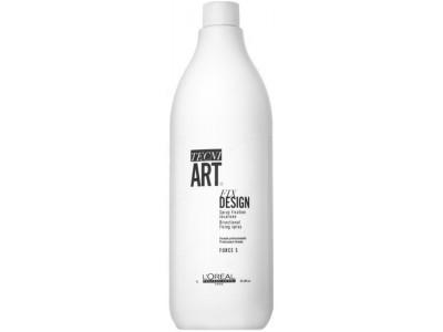 L'Oreal Professionnel Tecni.ART FIX DESIGN - Спрей для Локальной Фиксации (фикс 5), 1000мл