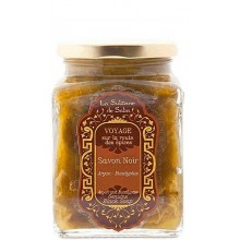 La Sultane De Saba Authentic Black Soap Argan - Черное мыло для лица и тела АРГАН 300мл