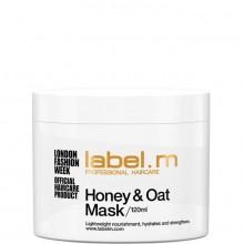 """label.m Condition Honey&Oats Mask - Питательная маска """"Мед и Овес"""" для Сухих и Обезвоженных Волос 120мл"""