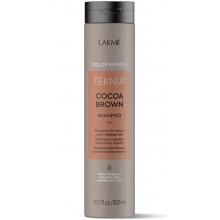 LAKME TEKNIA NEW! COLOR REFRESH COCOA BROWN SHAMPOO - Шампунь для обновления цвета коричневых оттенков волос 300мл
