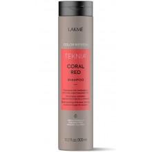 LAKME TEKNIA NEW! COLOR REFRESH CORAL RED SHAMPOO - Шампунь для обновления цвета красных оттенков волос 300мл