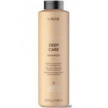 LAKME TEKNIA NEW! DEEP CARE SHAMPOO - Восстанавливающий шампунь для поврежденных волос 1000мл