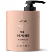 LAKME TEKNIA NEW! FULL DEFENSE TREATMENT - Маска для комплексной защиты волос 1000мл