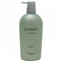 Lebel Proedit Care Works Soft Fit Shampoo - Шампунь для жестких и непослушных волос 700 мл