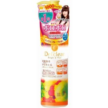 Meishoku Detclear AHA & BHA Fruits Peeling Jelly - Фруктовый пилинг-гель с AHA и BHA с эффектом скатывания с ароматом Фруктов 180мл