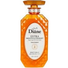 Moist Diane Extra Smooth & Straight TREATMENT - Бальзам-маска для волос Кератиновая ГЛАДКОСТЬ 450мл