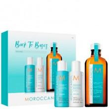 Moroccanoil Be To Basics Set Volume - Набор для волос Объём 70 + 70 + 100мл