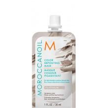 MOROCCANOIL COLOR DEPOSITING MASK PLATINUM - Маска тонирующая для волос ПЛАТИНА 30мл