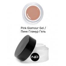 nano professional Gel - Гель скульптурный камуфлирующий Pink Glamour Gel 15мл