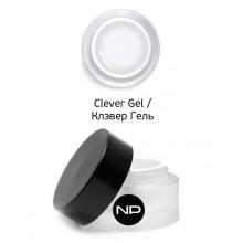 nano professional Gel - Гель скульптурный прозрачный Clever Gel 100мл