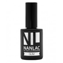 nano professional NANLAC - Гель-лак базовый GUM 15мл