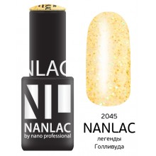 nano professional NANLAC - Гель-лак Эффекты NL 2045 легенды Голливуда 6мл