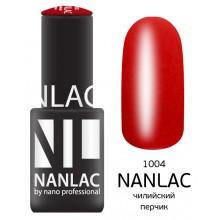 nano professional NANLAC - Гель-лак Эмаль NL 1004 чилийский перчик 6мл
