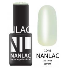nano professional NANLAC - Гель-лак Эмаль NL 1045 летняя мечта 6мл