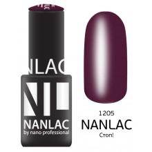 nano professional NANLAC - Гель-лак Эмаль NL 1205 Стоп! 6мл