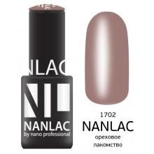 nano professional NANLAC - Гель-лак Эмаль NL 1702 ореховое лакомство 6мл