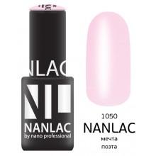nano professional NANLAC - Гель-лак камуфлирующий NL 1050 мечта поэта 6мл